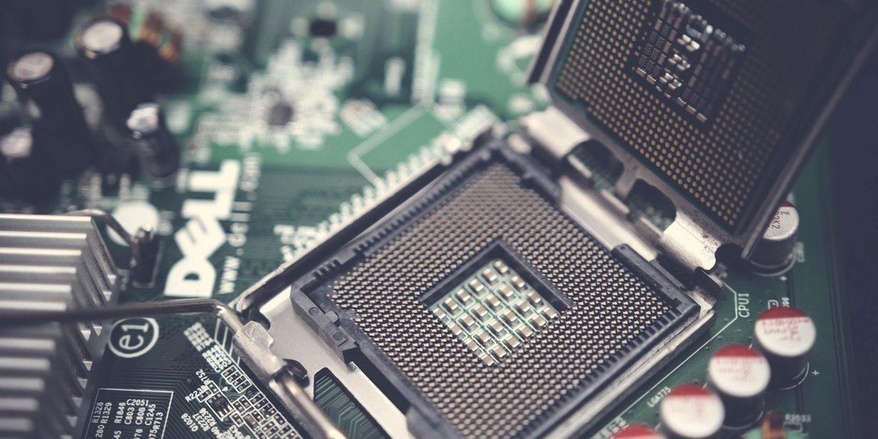 Raffreddamento ad azoto liquido di un processore